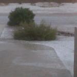 Hail in Arizona