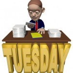 Today Tuesday